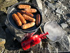 Sausages on Skiddaw