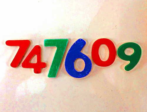 Square Root of 558919216881 found on my fridge!