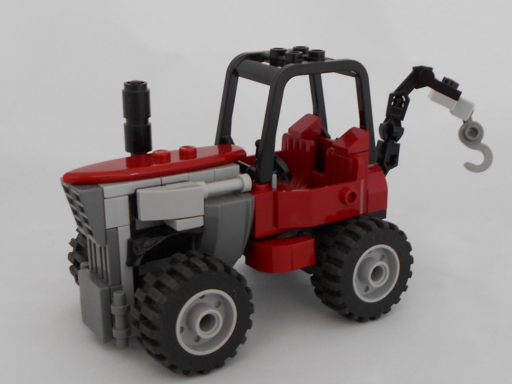 ABS Tractor (custom built Lego model)