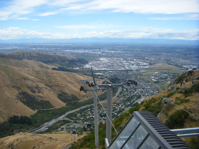 View over Christchurch area., Fujifilm FinePix Z100fd