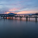 Wilson Point Sunset by Ken Krach Photography