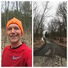 21.6 miles with temperatures in the upper 30s - wonderful running weather and everything felt great!  Did the 'quad hill' route (perhaps 'quad shredder would be more appropriate!), ready to face the rest of the day!  Have a great Saturday!