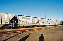 Union Pacific Hoppers Nos. 219726, 219386, 219393 & 219376