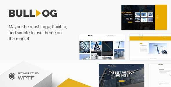 Bulldog WordPress Theme free download