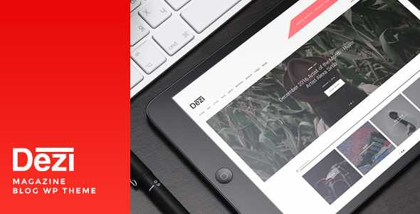 Dezi WordPress Theme free download