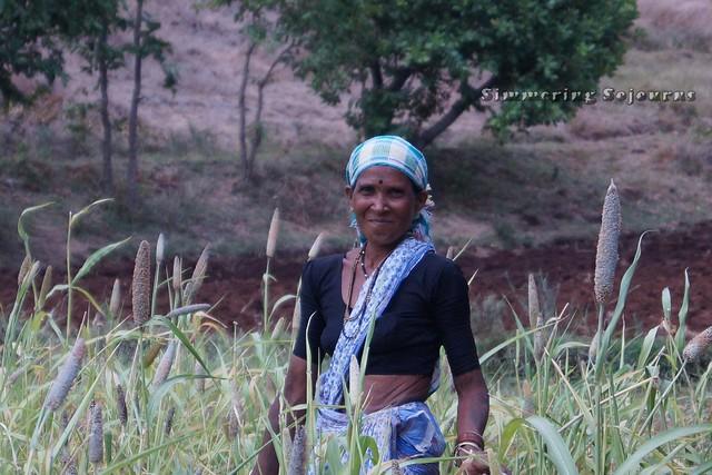 A field worker