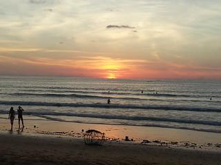 Thailand Karon Beach Phuket Sunset