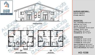 Plan de maison jumelé - MJ.03