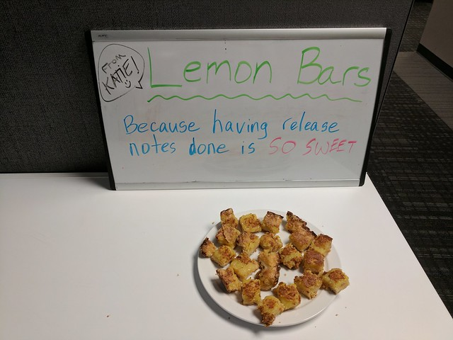 Joke Board: Lemon Bars