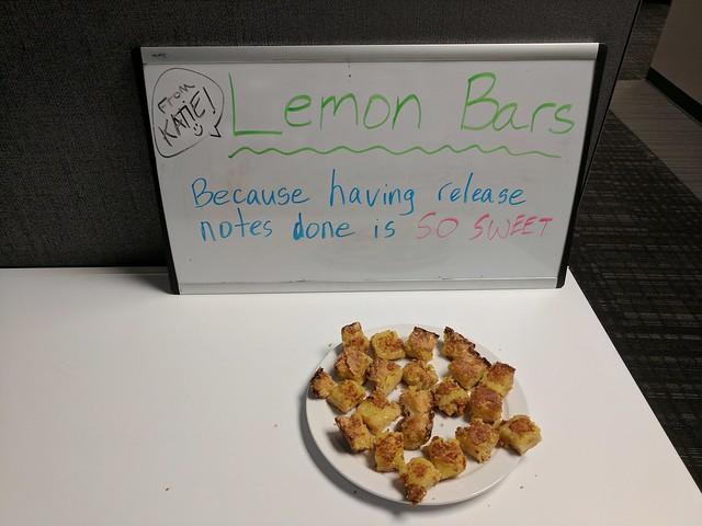 Joke Board: Lemon Bars