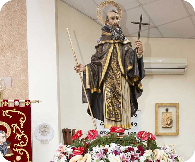 San Ginés celebra 340 años como patrón de Cartagena