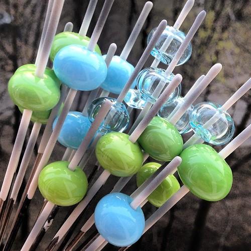 #lampwork  #hollow #glass #beads