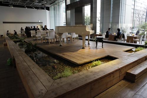 大樓裡種植的植物也都將成為員工餐廳的原物料。
