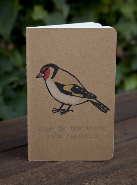Goldfinch Moleskine