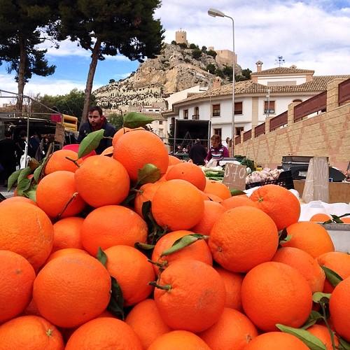 Castalla y las naranjas, Alifornia-Alicante.