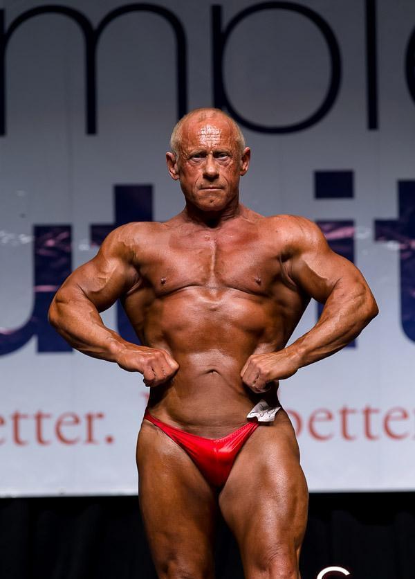 bodybuilder men Mature