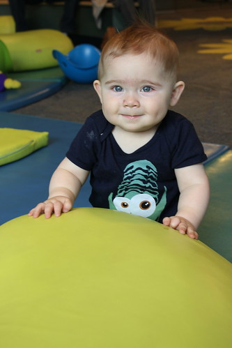 Port Discovery - Toddler Trails - Dyson Smiles in Trilobite Shirt