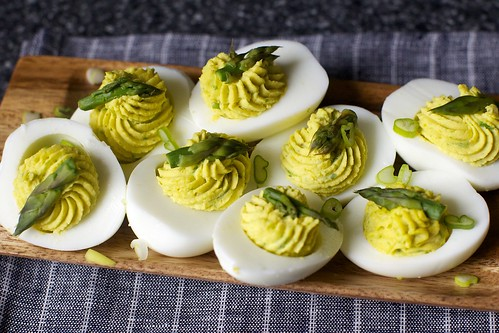 Salad Deviled Eggs , Egg Salad with Pickled Celery and Coarse Dijon ...