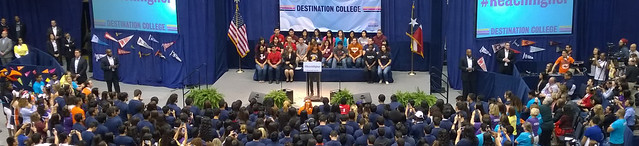 College Signing Day with Michelle Obama