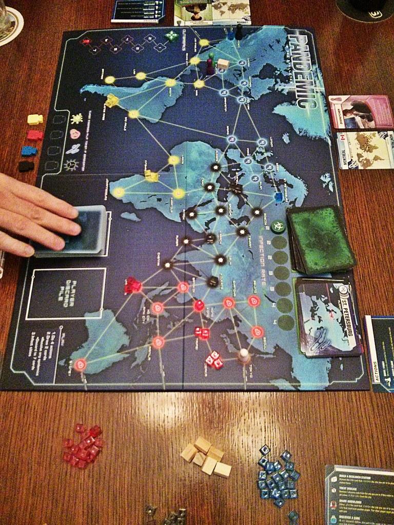 Playing Pandemic.