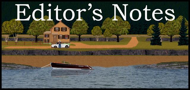 Editor's Notes Banner ©2014 Jack Boardman