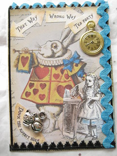 Vintage Alice in Wonderland ATC