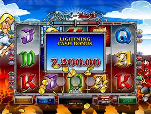 Angel or Devil Lightning Cash Bonus