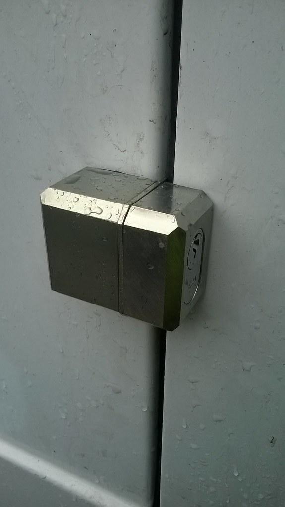Ford Transit Rear Door Lock