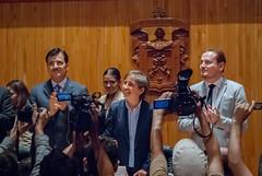 Carmen Aristegui recibe el galardón 'Corazón de León' ②