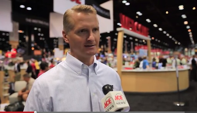 Ace Hardware president and CEO, John Venhuizen