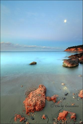La piedra y la luna.