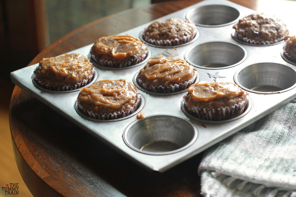 "14026378686 2accb9895e b - Some ""Skinny"" Peanut Butter-Banana Muffins for bikini season"