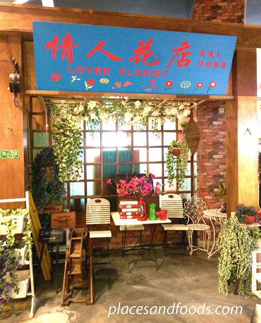 grand shanghai food theme park lovers florist