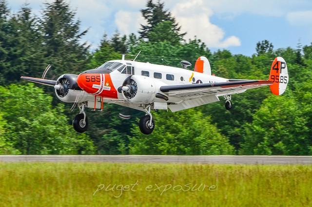 Historic Flight Foundation, Beech RC-45J
