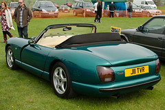 automobile(1.0), tvr cerbera(1.0), vehicle(1.0), performance car(1.0), automotive design(1.0), tvr chimaera(1.0), antique car(1.0), land vehicle(1.0), tvr(1.0), convertible(1.0), supercar(1.0), sports car(1.0),