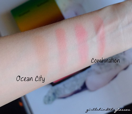 MAC Ocean City Blush swatch