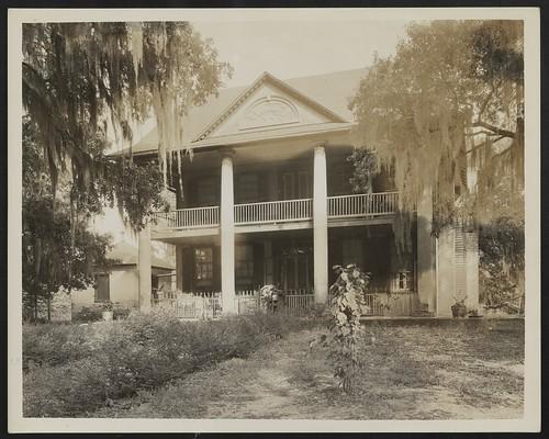 Unidentified house, Natchez vic., Adams County, Mississippi (LOC)