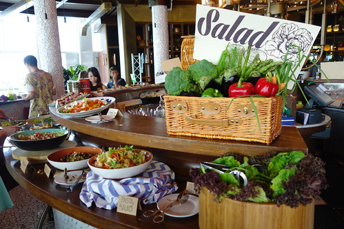 Salad Bar at Catalunya Singapore's Sunday Brunch