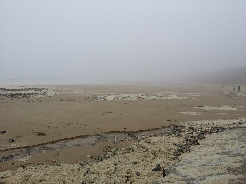 A bit grim on West Runton beach #sh