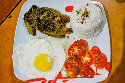 Adora's Restaurant Bangsilog (Bangus and Itlog)