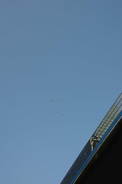ブルーインパルス展示飛行(SAYONARA国立競技場) @SHIBUYA_006