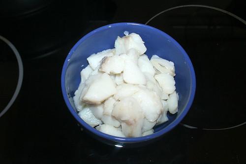 27 - Kabeljau bei Seite stellen / Put codfish aside