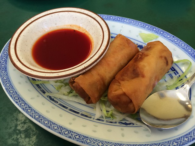 Egg rolls - Utopia Cafe