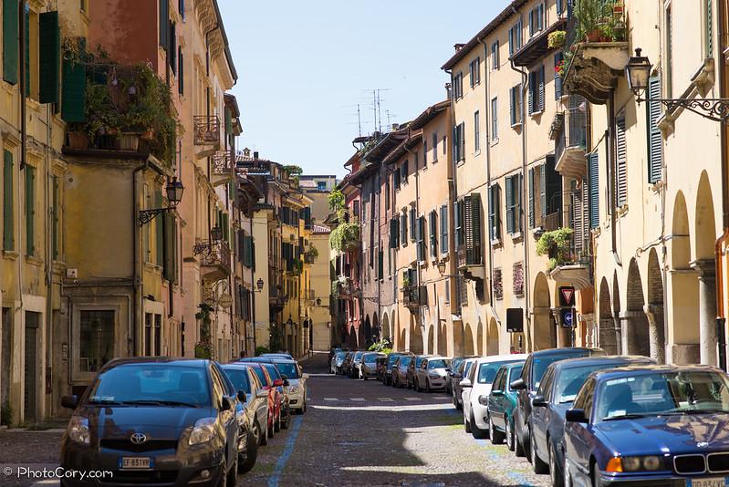 Via Sottoriva in Verona