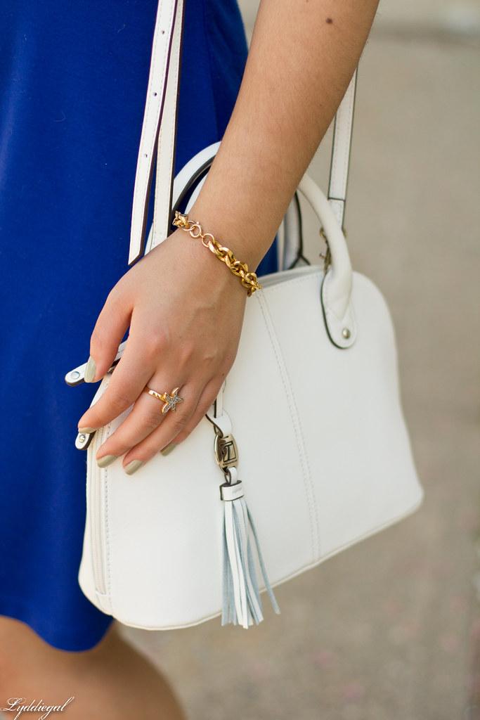 little cobalt dress, white bag-5.jpg
