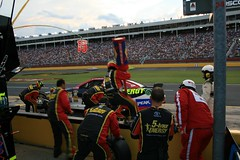Clint Bowyer Pit Stop