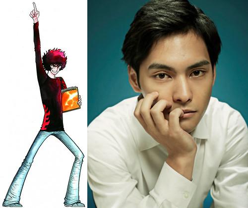 140509(2) - 熱血漫畫家「島本和彥」大作《アオイホノオ》(青之炎)將在7月播出日劇、由《HK 瘋狂假面》導演操刀! 1