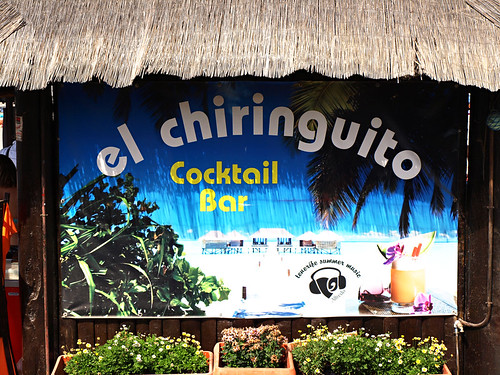 Chiringuito beach bar, Tenerife