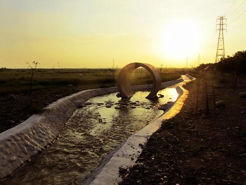 二峰圳親水區。(圖片來源:林務局)