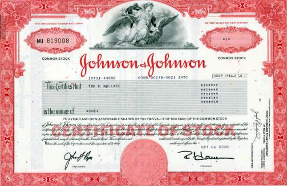 Johnson and Johnson Stock